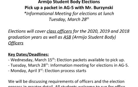 Election season begins at Armijo
