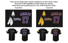Senior T-shirts now available for pre-order