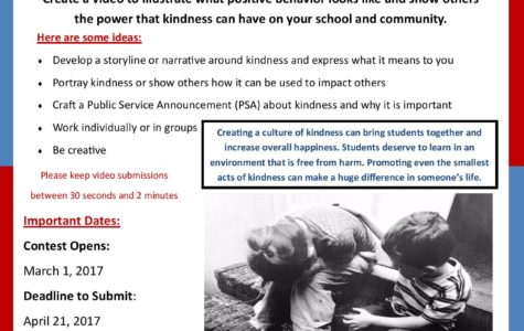 Contest: Create a PSA about kindness by April 21