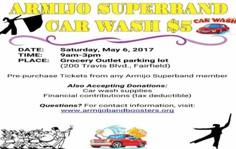 Help support the Armijo Marching Band