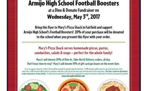Feed your need for pizza and help the football team