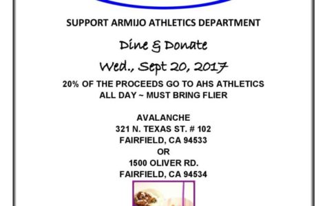 Support Armijo's Athletics