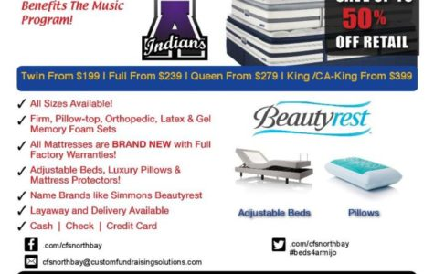 Band benefits from mattress purchases