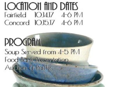 Empty bowls provides food to locals in need