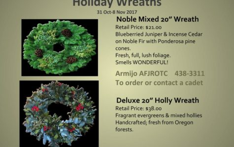 ROTC invites you to celebrate the holidays with greenery