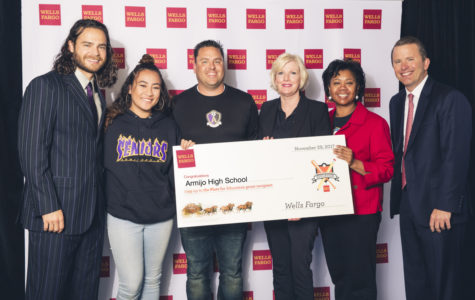 Baseball World Champion Brandon Crawford and Wells Fargo present $100,000 in education grants at AT&T Park