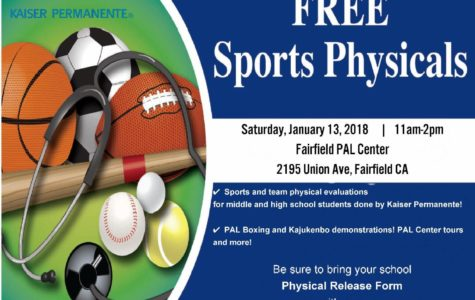 One day only – free sports physicals