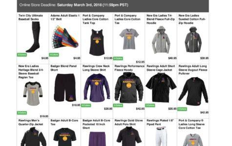 Support Armijo Baseball – Sale runs through March 3