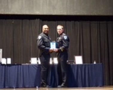 Officer Mack named Fairfield's Police Officer of the Year
