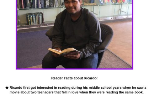 Let us introduce April's Reader of the Month