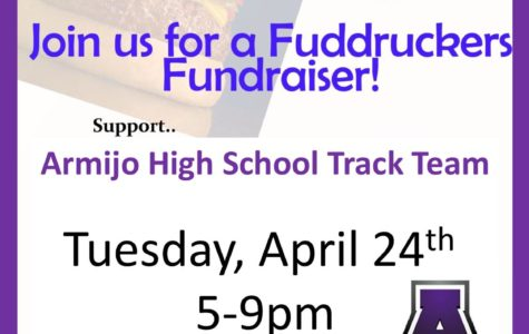 Run to Fuddruckers today and help out the Track Team