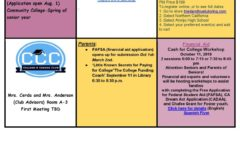 College & Career Newsletter – Part #2