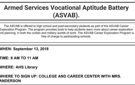 Register Now for the Upcoming ASVAB