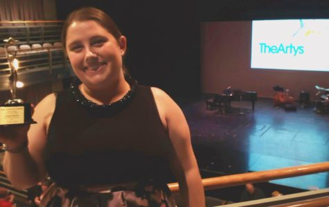 Theatre Teacher Scores with Lighting Arty Award
