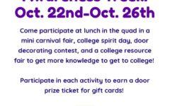 College and Career Awareness Week Starts October 22