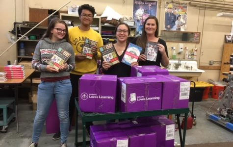 Fairfield Subaru and AAAS Share Books with AHS Students