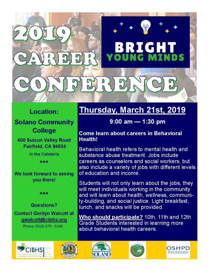 Career Conference Looks for Participants