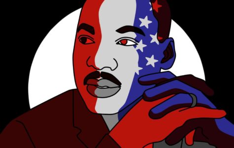 January 2018 – MLK Jr Illustration