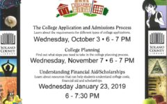 Get Ready for College at the January Workshop