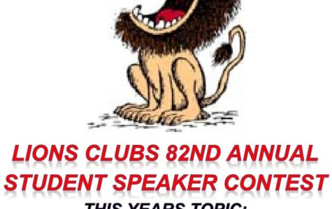 The Fairfield HOST Lions Club's 82nd Annual Student Speaker Contest, February 6