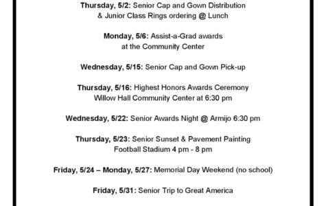 Senior Countdown… 5, 4, 3, 2, 1