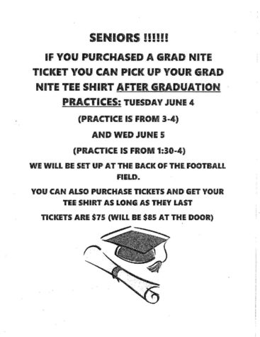 Graduation Details for Thursday, June 6 Ceremony