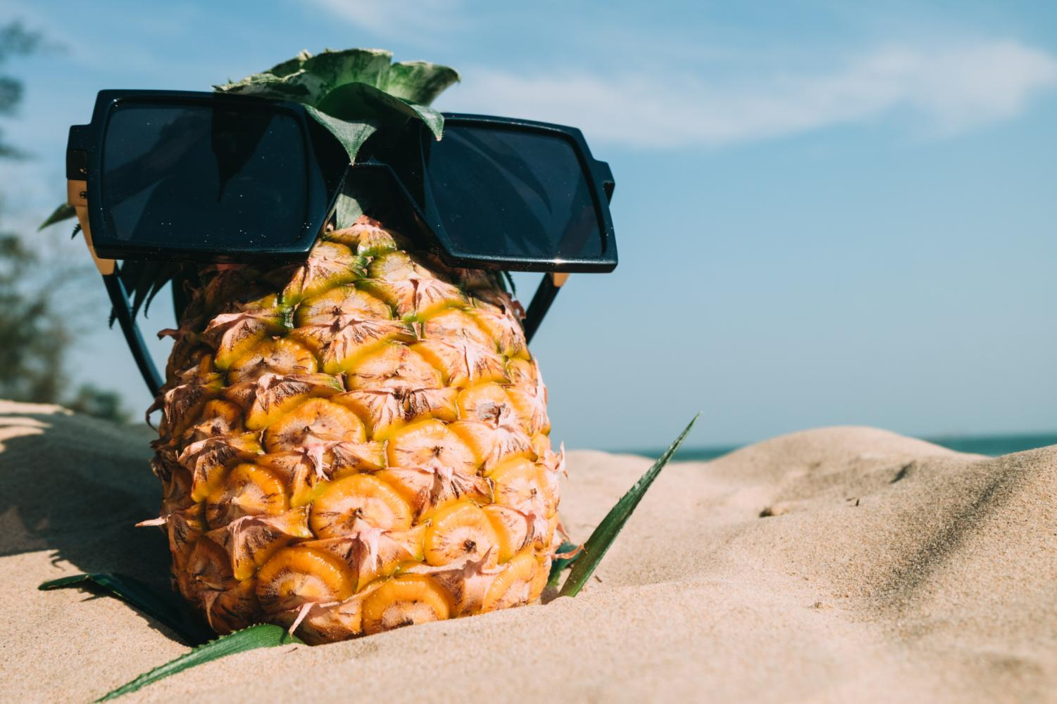This summer, you can chill in style. Go bananas! (or pineapples!)