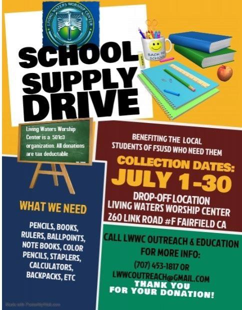 Extra School Supplies? Share Them Here!