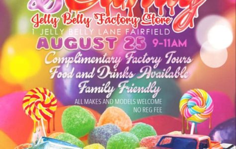 Celebrate the end of this summer with Cars & Candy on August 25