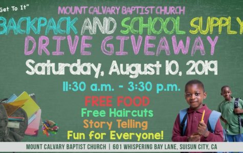 August 10 – Time to get school supplies!