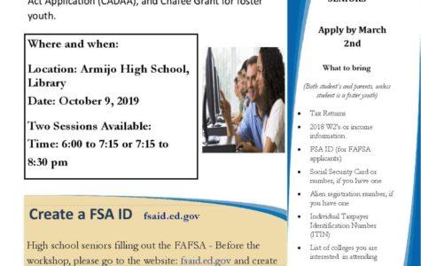 FAFSA Important Info!