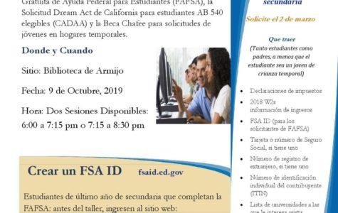 Noticias Importantes De FAFSA!