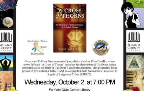 Award-winning journalist visits FF library October 2