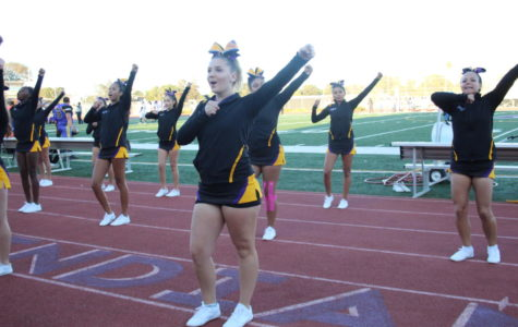 Cheer focus: Energy and experience