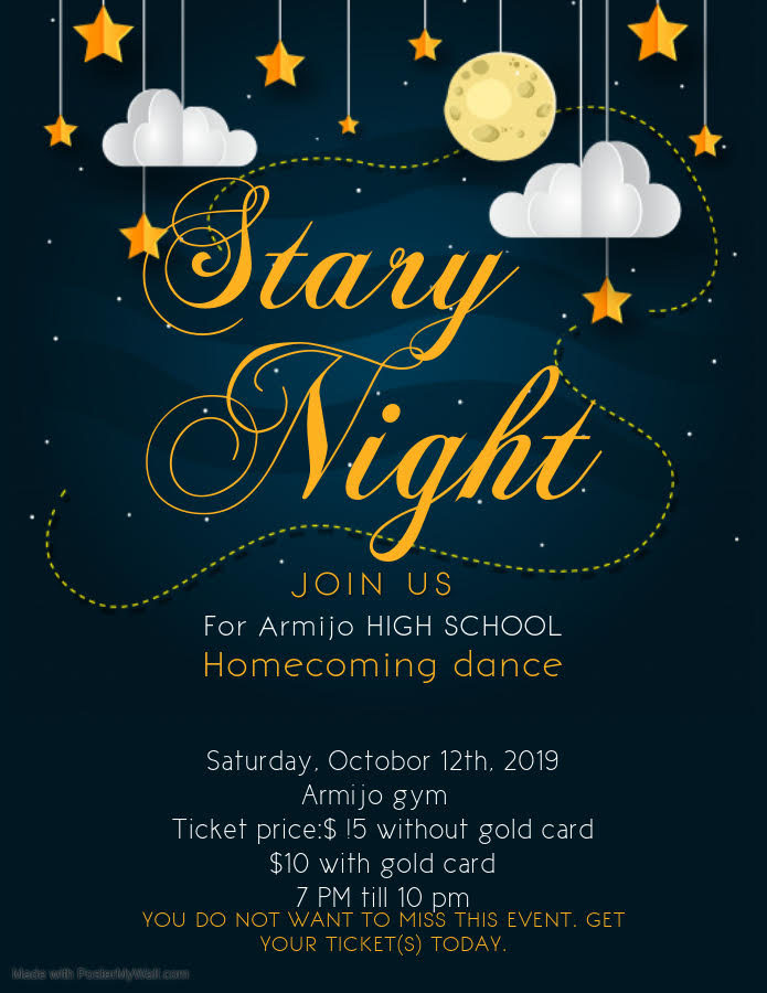 Stary+Night+Homecoming+Dance+Tickets+on+sale+now