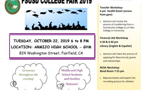 College Fair welcomes students October 22