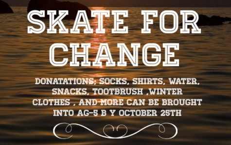 Skate for Change distributes donations Saturday