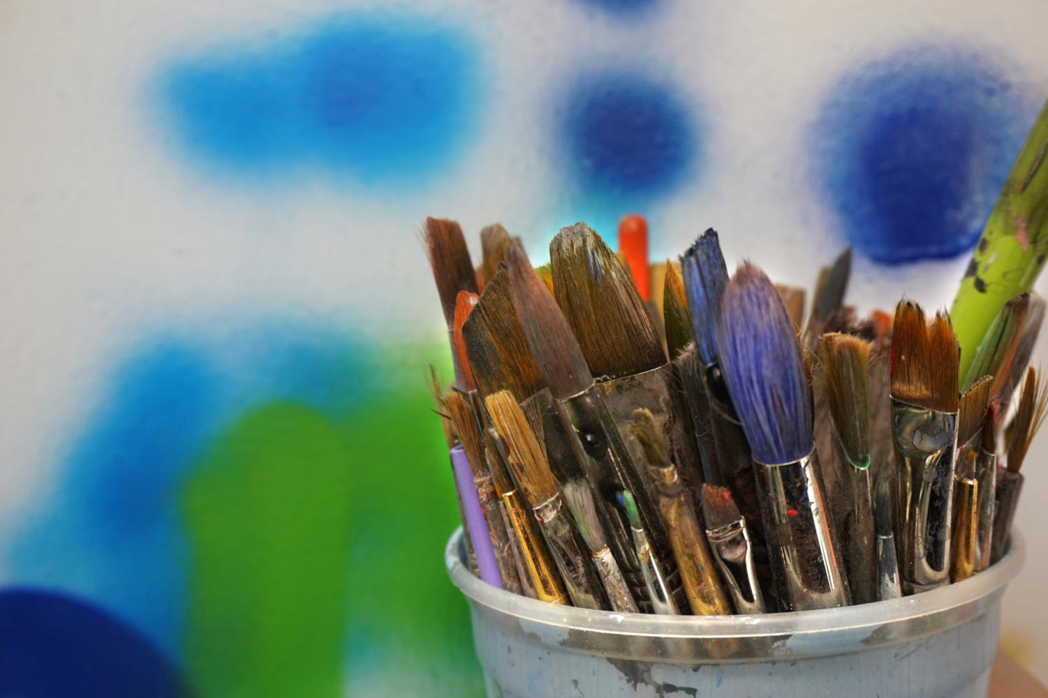 Painting, drawing or sculpture - artists have their favorite sources.