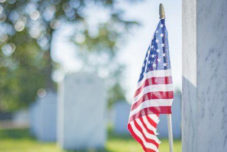 Behind Veterans Day