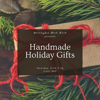 Handmade Holiday Gifts in Vacaville Nov.16