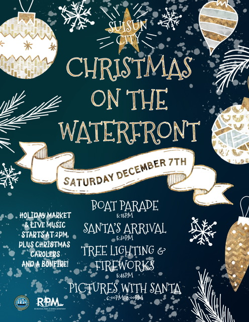 Join+friends+at+the+waterfront+in+Suisun+on+December+7