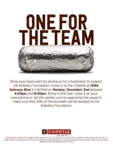 Tired of turkey? Support Robotics at Chipotle