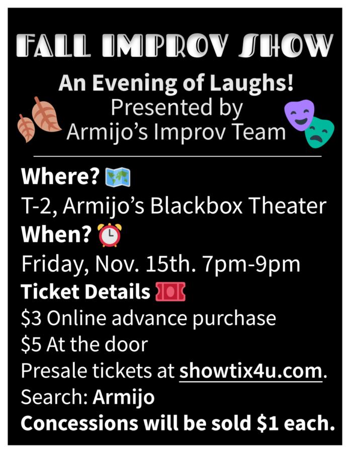Friday, November 15, get your Improv on