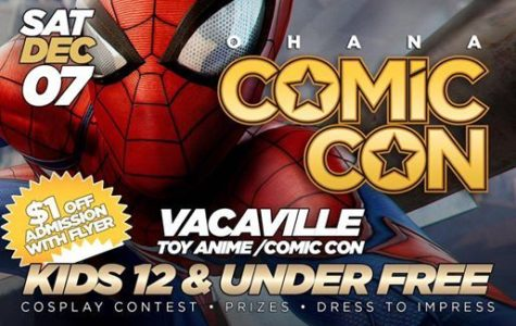 Vacaville Anime/Comic Con Dec.7