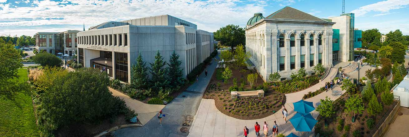 A beautiful campus that is both inviting and exciting.