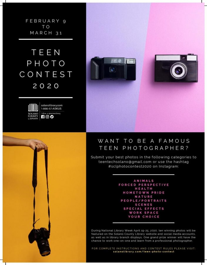 Teen Photo Contest – Submissions accepted February 9 – March 31