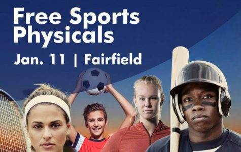 2020 athletes – take advantage of a free physical on 1/11