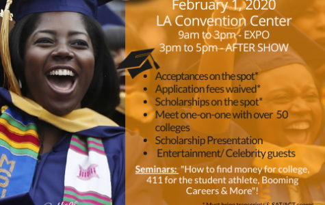Black College Expo on February 1