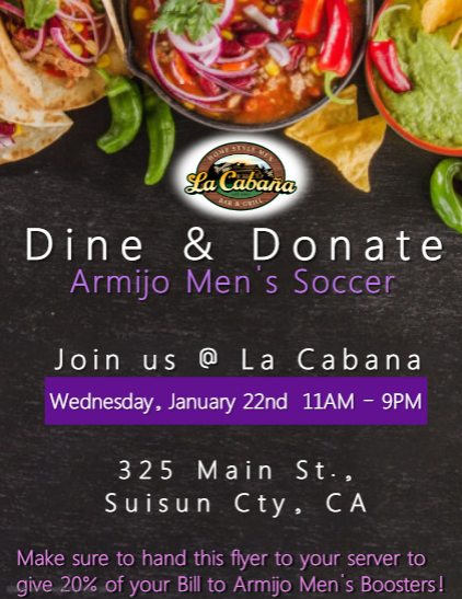Support the Soccer players January 22