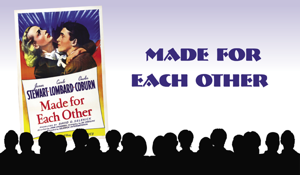 """Classic Movie Viewing:""""Made for Each Other"""" on February 13"""